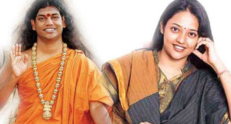 Ranjitha and Nithyananda,