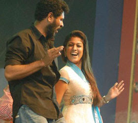Nayantara to join with Prabhudeva