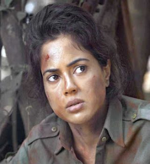 Sameera Reddy with zero make up in Red Alert