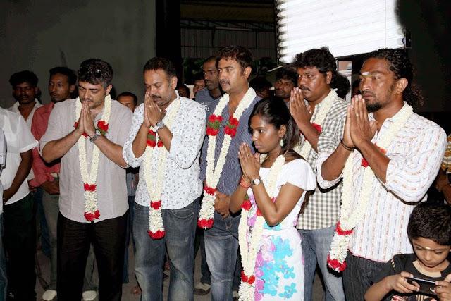 Ajiths Mangaatha Movie Launch Still 3