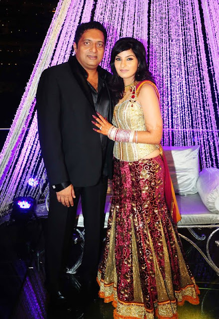 Prakash Raj Pony Verma Wedding Reception Stills