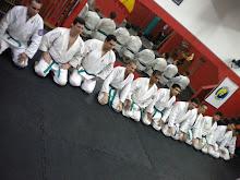 Turma de novos instrutores