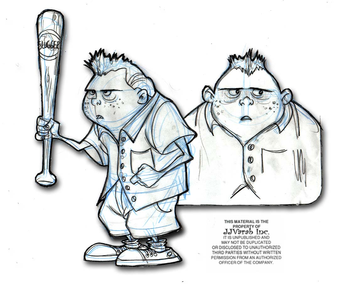 Character Design Study : Ojo my quot slugger character design study