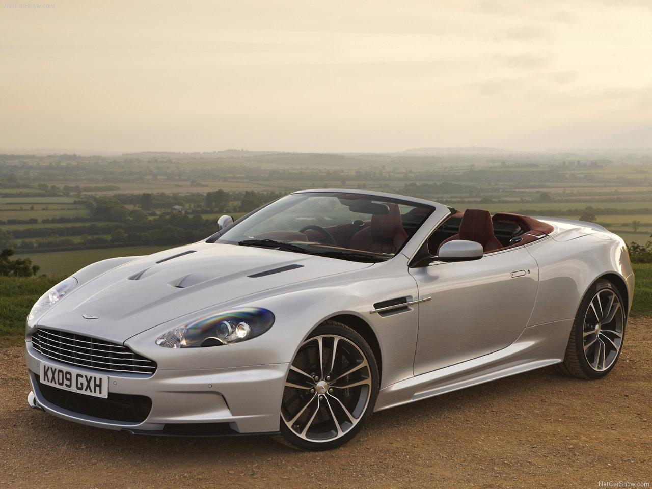 Aston Martin Dbs Volante 2010 Wallpaper