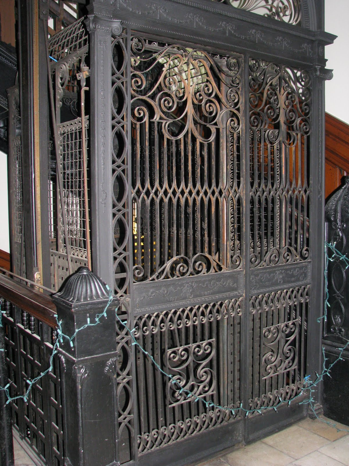 Bronze Magnolia Elevator Panels Michael Wong amp Yabu