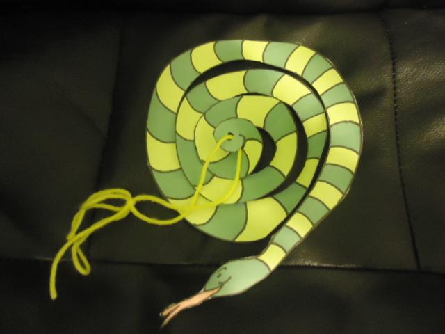 Church House Collection Blog: Garden of Eden Serpent Craft
