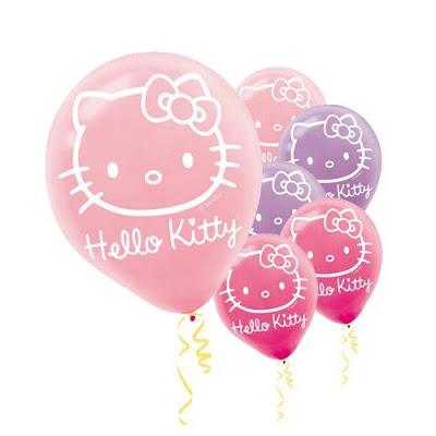 Hello Kitty 12in Balloons