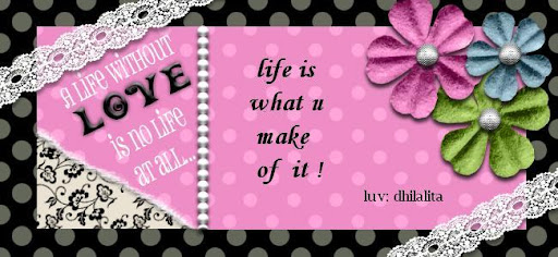 ~~~~LIFE IS WHAT U MAKE OF IT~~~~