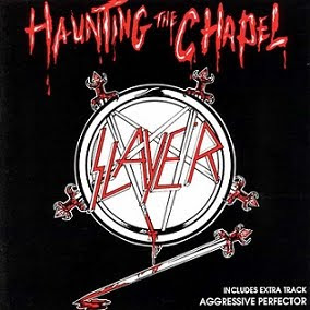 out riff to a messy lead the slayer trademark then busts out a cruel