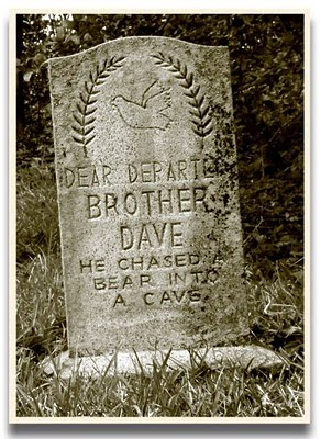 Scary Tombstone Sayings http://hauntstyle.blogspot.com/2010/05/13-haunted-mansion-tombstones.html