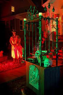 Halloween butcher's shop