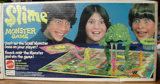 Vintage Slime Monster board game by Mattel