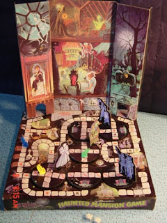 The Haunted Mansion Game features rotating discs that change the path that players can take