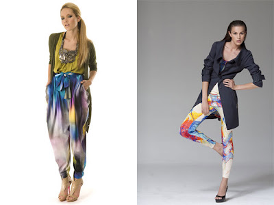 hong kong fashion geek matthew williamson basso brooke resort 2010 collection ombre pants multicolor