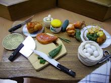 mesa preparación de alimentos