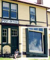شبح نافذة مكتب البريد