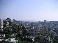 جانب من مدينة رام الله في فلسطين