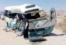 حادثة الباص الذي أقل 25 راكباً على طريف إربد-عجلون