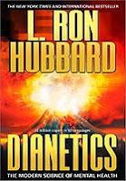 غلاف كتاب الديانتيكس للمؤلف إل رون هوبارد الذي أسس لفكر السينتولوجيا فيما بعد