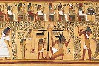 كتابات هيروغليفية على جدران المدافن تروي قصة عالم الموتى