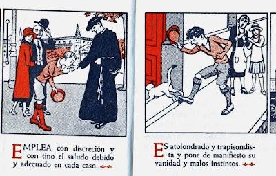 Cartilla Moderna de Urbanidad (niños). Editorial F.T.D. Barcelona. 1929.