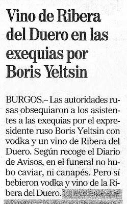 ElCorreo de Burgos, 29/04/07
