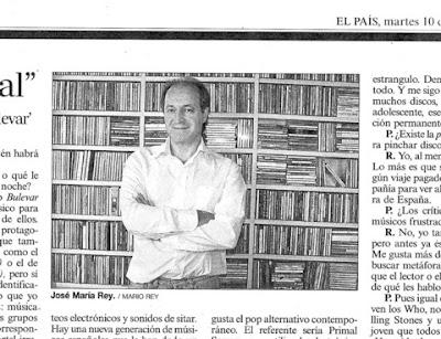 José María Rey, conductor de Bulevar, en El País 10/07/07