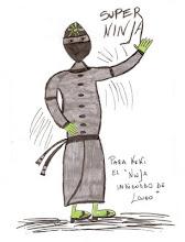 Un ninja indignado por Diego Longo