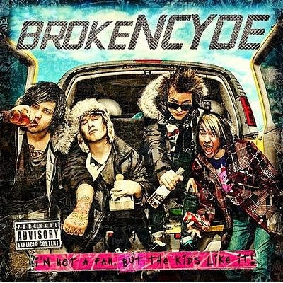 brokencyde album cover get crunk. Band: rokeNCYDE