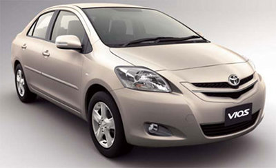 Toyota Vios Price List in Philippine Peso (as of December 2011) :