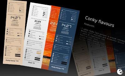 Conky Flavours 26 temas para Conky, monitoriza con estilo