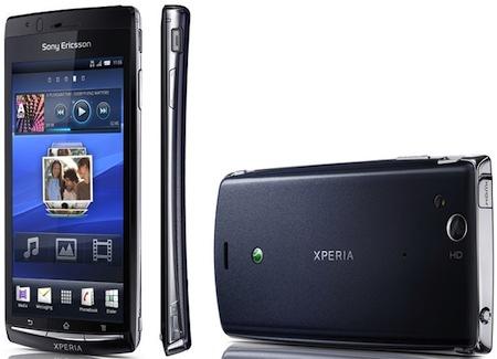 sony ericsson arc colours. Sony Ericsson Xperia Arc