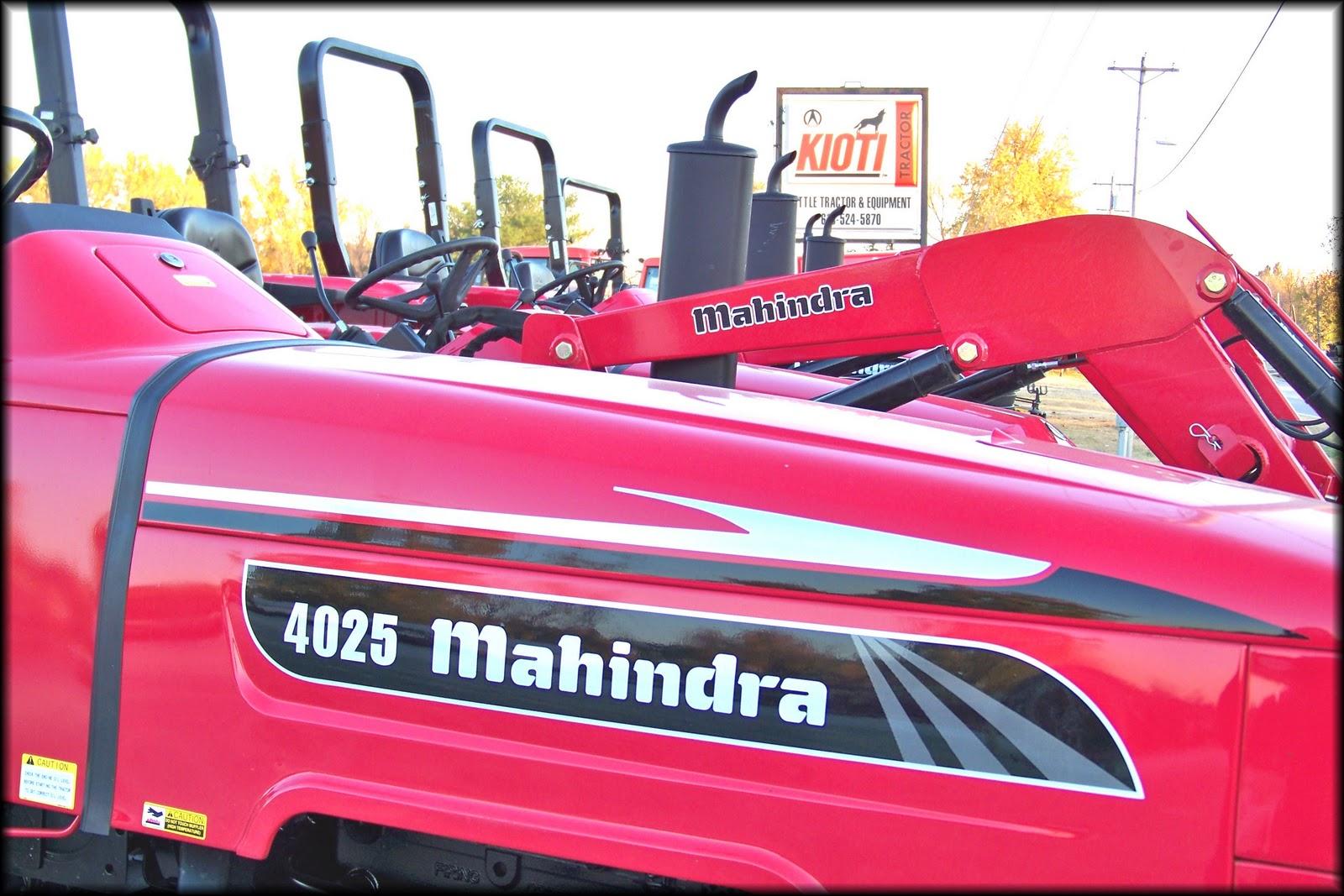 Mahindra tractors dealer sc