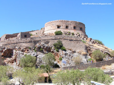 The Spinalonga Fortress