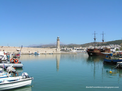 The Old Venetian Port, Rethymno, Crete, Greece