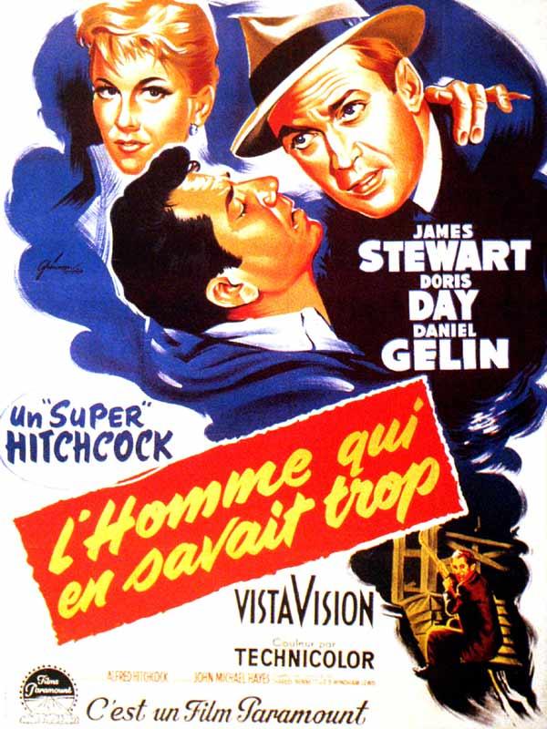 L'homme qui en savait trop (1956) affiche
