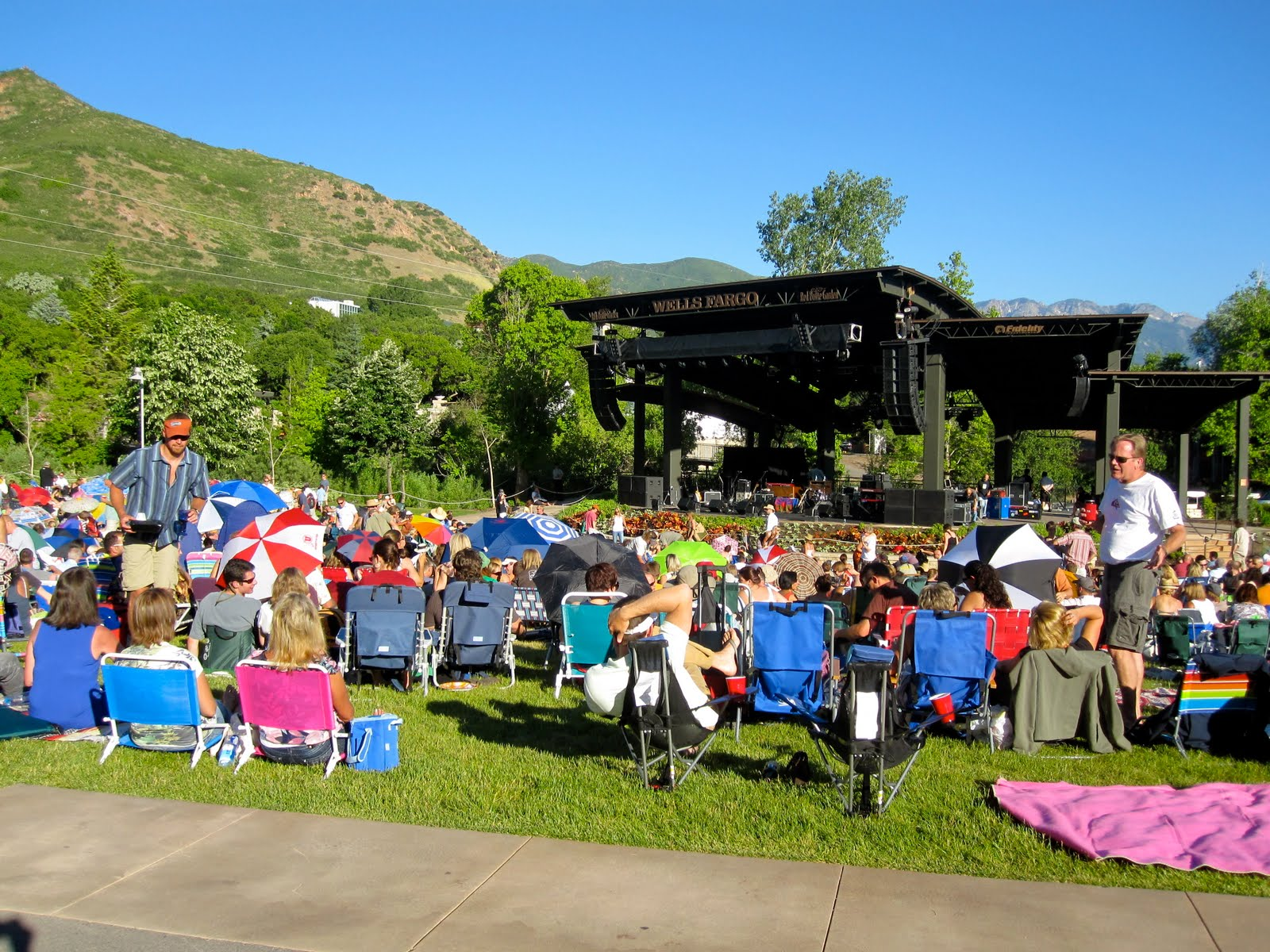 Amazing Last Night We Went To Our First Red Butte Garden Concert. We Had A Great  Time With Good Food, Great Friends, Nice Music, And An Incredible  Mountainous ...