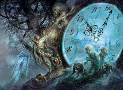 coleccionista de relojes extraordinarios, Gallego, portada