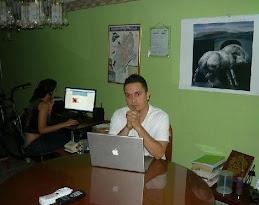Trabajando en mi Oficina