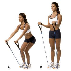 Un entraînement complet avec des mouvements à domicile