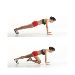 Exercices simples pour un ventre plat-Mountain Climber