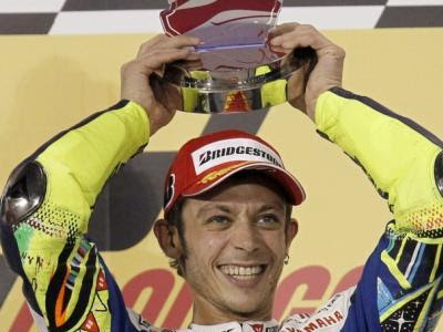 athlète millionnaire Valentino Rossi