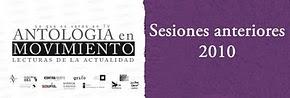 Sesiones 2010