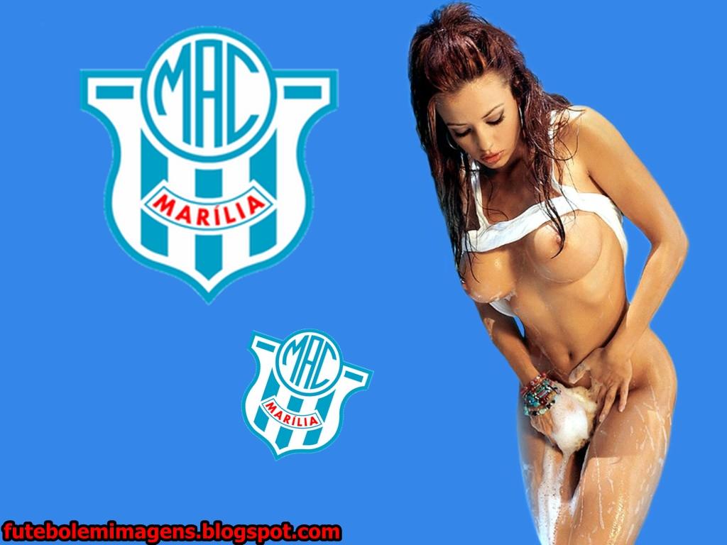 Futebol Em Imagens Papel De Parede E Escudo Do Marilia