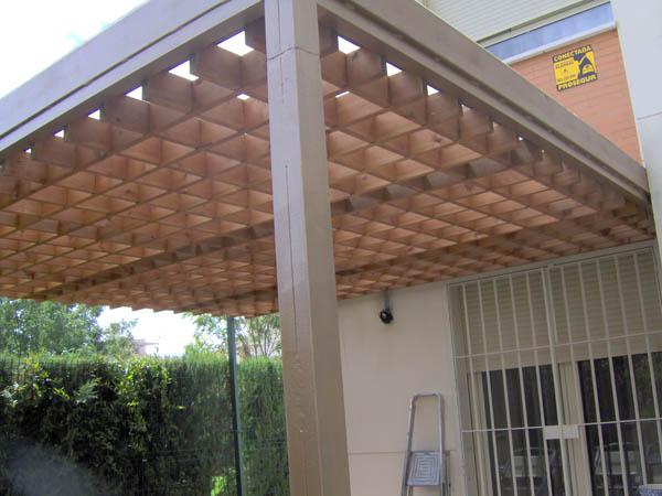 Pergolas sevilla pergolas de madera febrero 2011 - Pergolas de madera en sevilla ...