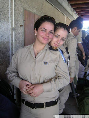 pics of Girl Soldiers of Israel