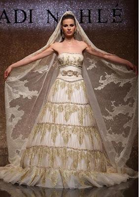 مدل لباس های زیبای عروس برای مراسم عروسی 2009www.sardarcsp.com