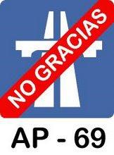 NO AUTOPISTA-NO AUTOVIA-AP69-DOS MARES