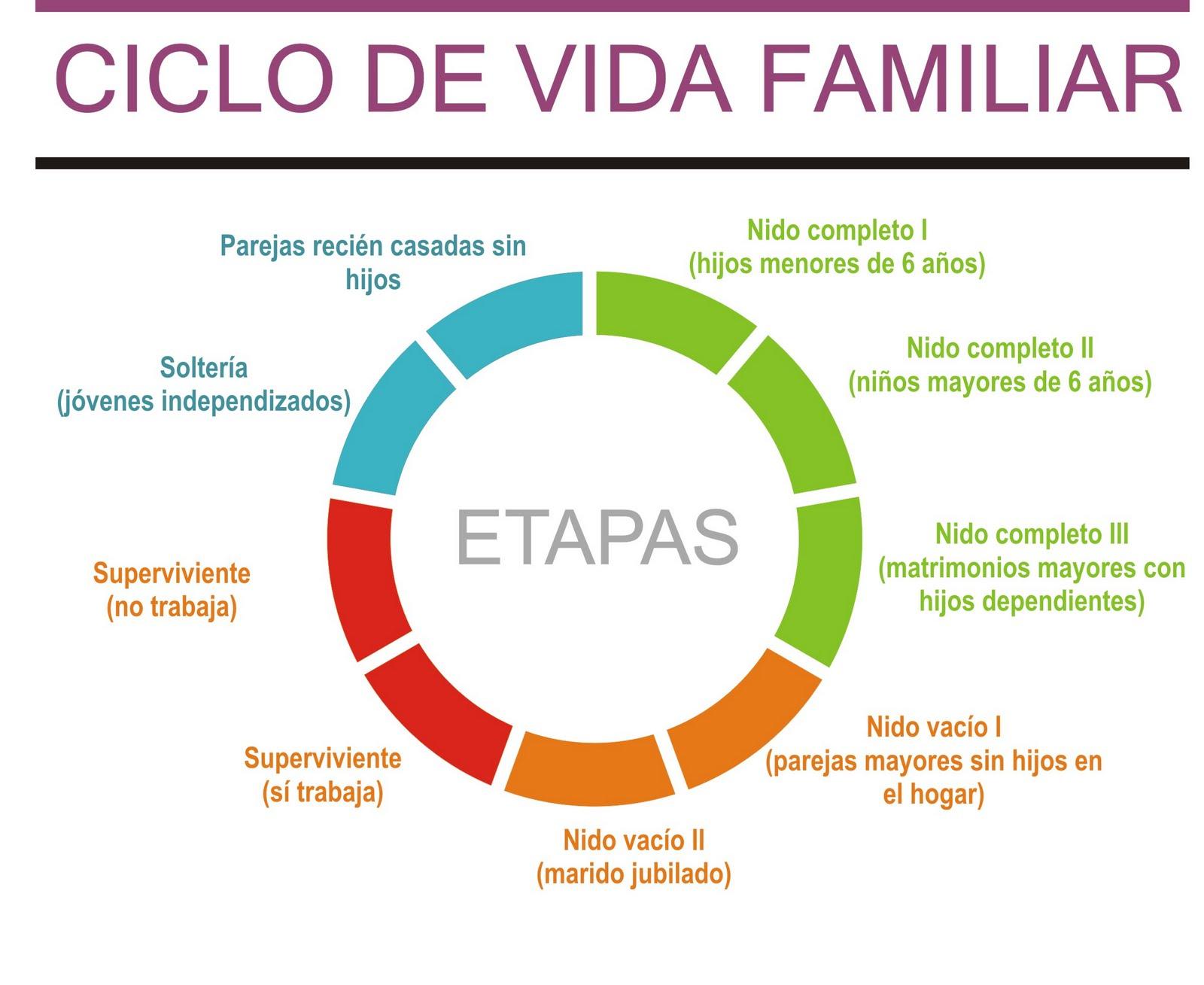 Ciclo vital de la familia ciclo vital de la familia for Tipos de familia pdf