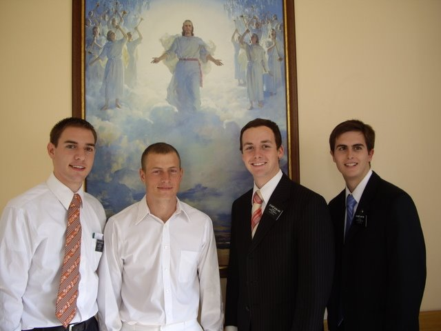 Missionaries with Ivan